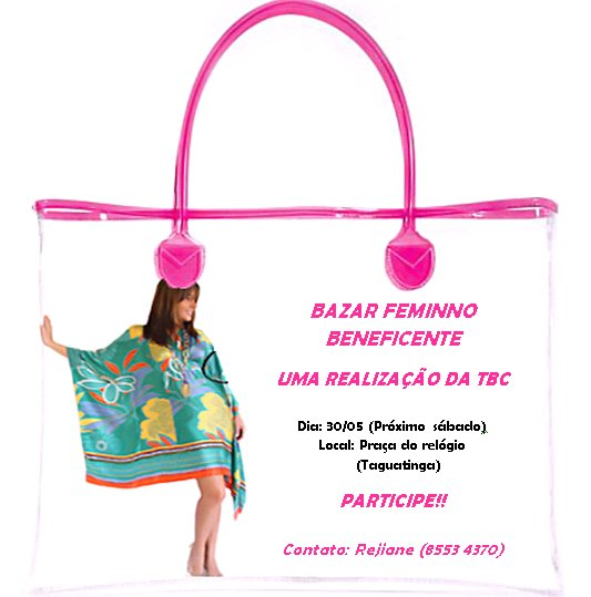Bazar Feminino Beneficente