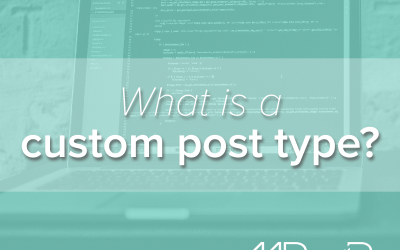 What is a custom post type?