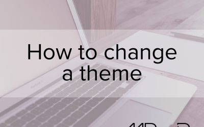 WordPress basics: How to change a theme