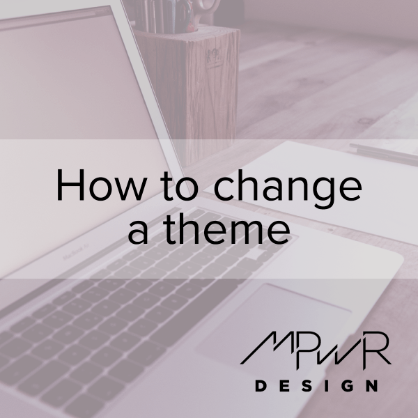 How to change a theme