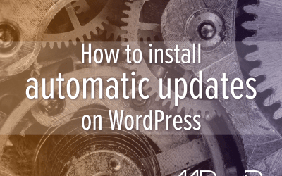 How to enable WordPress automatic updates