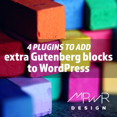 4 plugins to add extra Gutenberg blocks to WordPress
