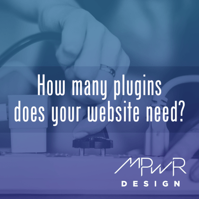 How many plugins does your website need?