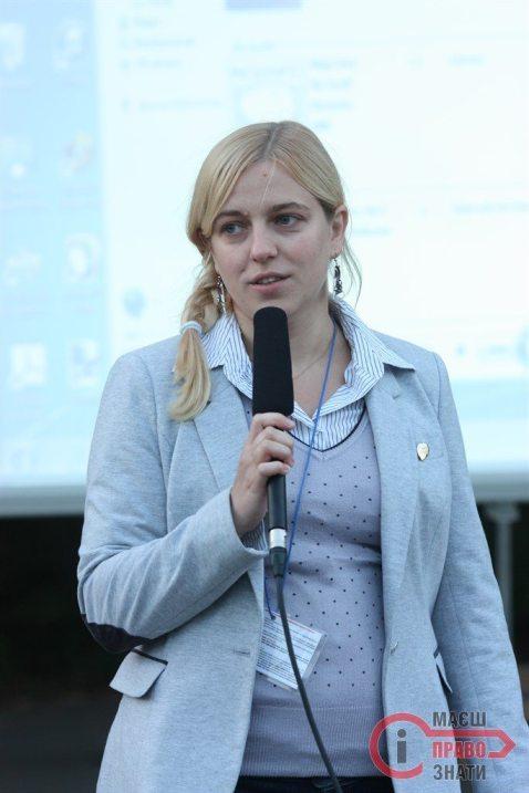 Аліні Дяченко довелось приміряти на себе роль ведучої