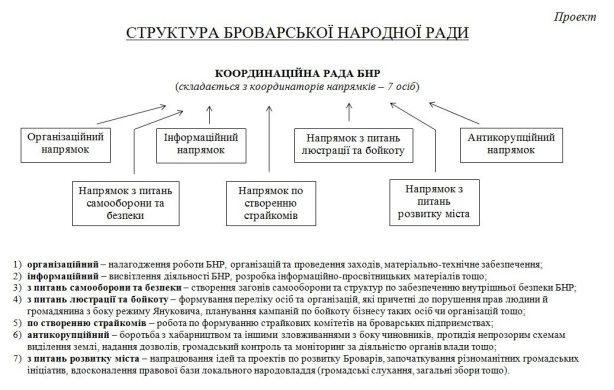 Структура БНР