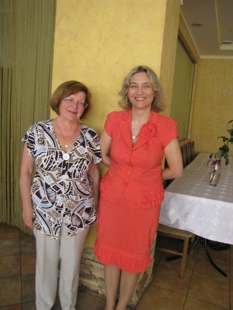 Антоніна Дворянець з донькою Світланою