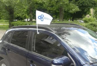 ДемАльянс прапорець авто