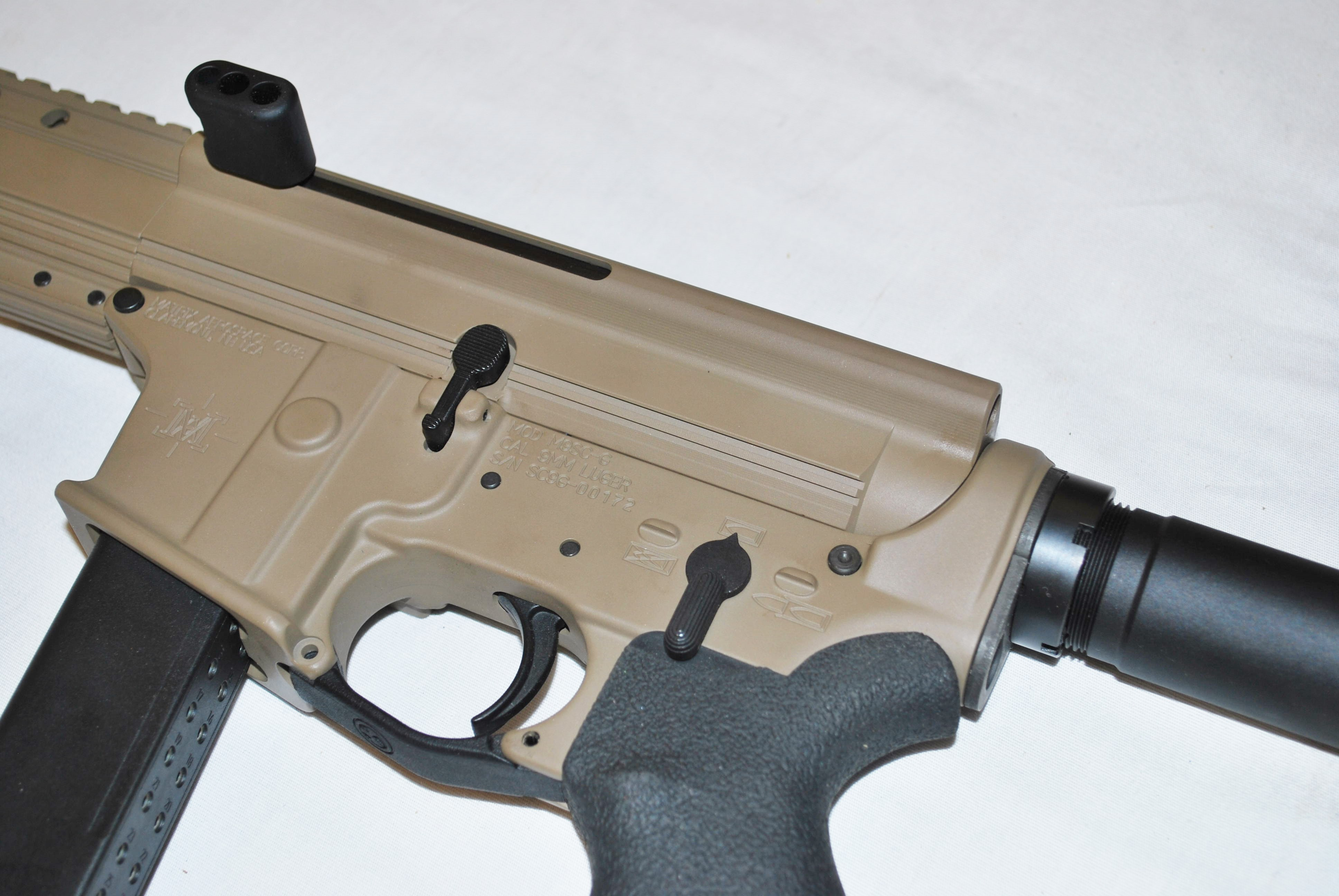 LF9-SC 5 5″ Glock Side Charge Pistol – Mad River