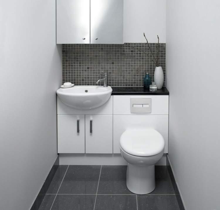 туалет с раковиной дизайн фото 2