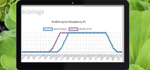 Lumière : phases d'éclairage gérés par RLIEH