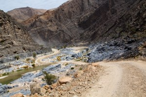 Wadi passage