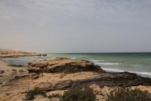 Offroad Oman: Coastline near Bammah