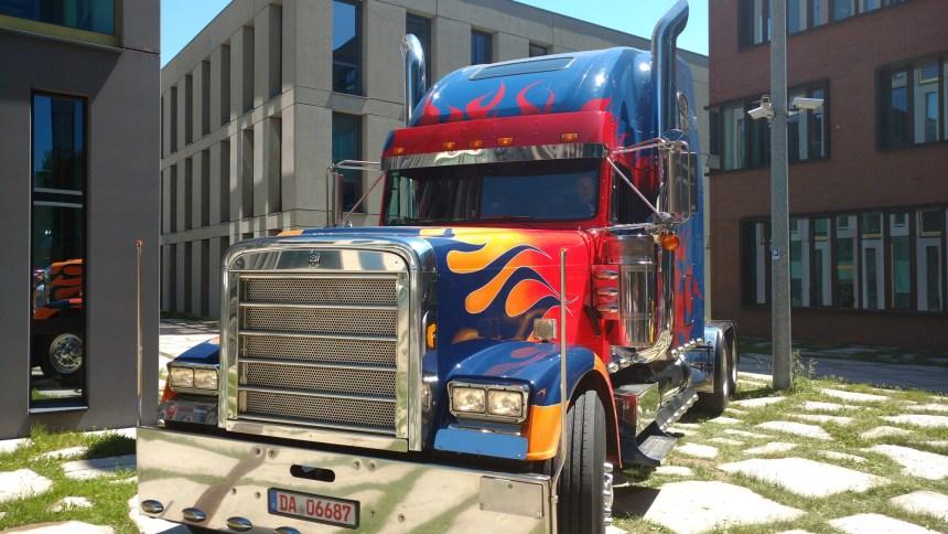 Optimus Prime in Munich