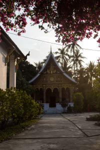 One of the many temples in Luang Prabang