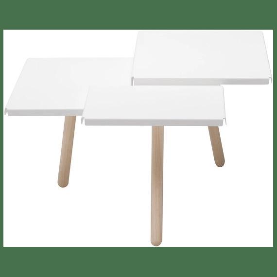 table basse blanche tablefields frederik roije