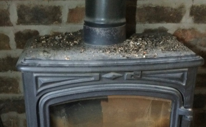 Why Does Soot And Dust Appear On Top Of My Stove Mr