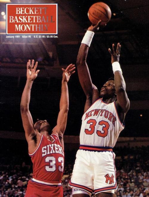 #06 January 1991-Patrick Ewing Basketball Beckett