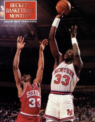 #06 January 1991-Patrick Ewing Basketball Becketts
