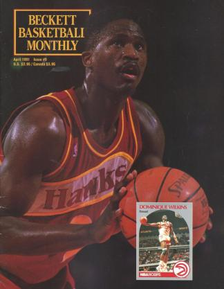 #09 April 1991-Dominique Wilkins Basketball Becketts