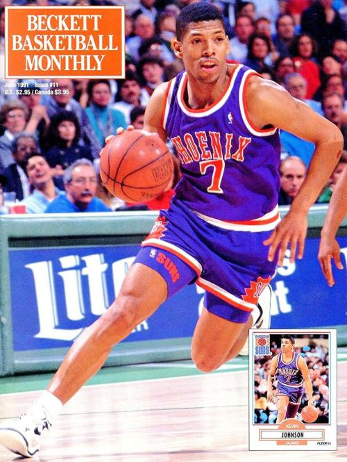 #11 June 1991-Kevin Johnson Basketball Beckett