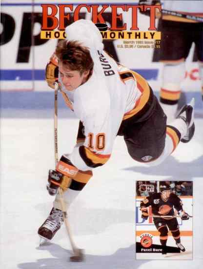 #17 March 1992-Pavel Bure Hockey Beckett