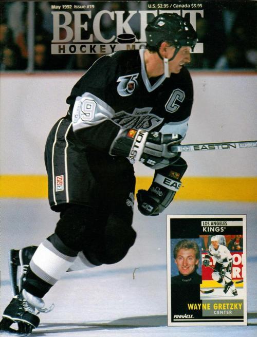 #19 May 1992-Wayne Gretzky Hockey Beckett