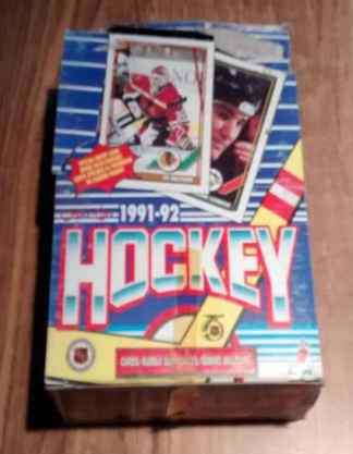 1991-92 O-Pee-Chee OPC Hockey Box