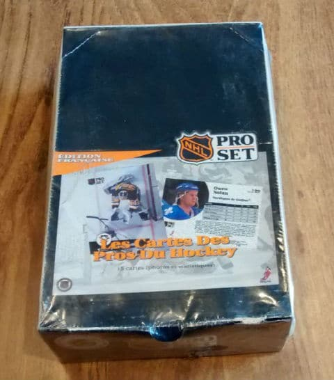 1991-92-Pro Set French Series Hockey Box