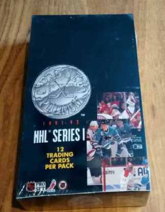 1991-92 Pro Set Platinum Series 1 NHL Hockey Box