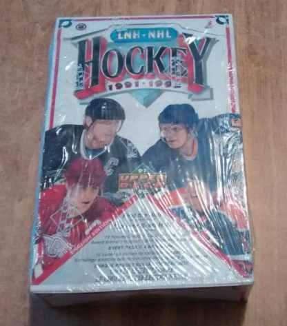 1991-92 Upper Deck English Low # Hockey Retail Box