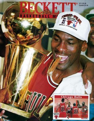#38 September 1993-Michael Jordan Basketball Beckett