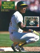 #73 April 1991-Rickey Henderson Baseball Becketts