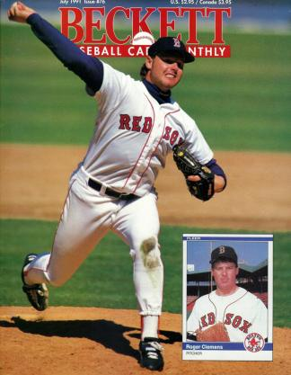 #76 July 1991-Roger Clemens Baseball Becketts