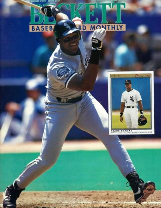 #79 October 1991-Frank Thomas Baseball Becketts