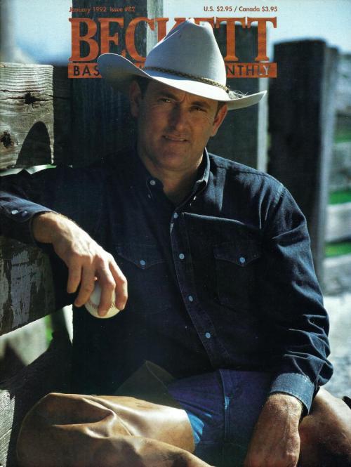 #82 January 1992-Nolan Ryan Baseball Beckett