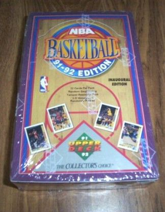1991-92 Upper Deck Basketball INAUGURAL EDITION