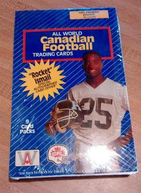 1991 All World Canadian Football CFL Box