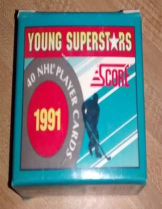 1991 Score Hockey Young Superstars