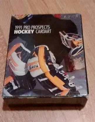 1991 Pro Prospects 'Star Pics' Hockey Card Set
