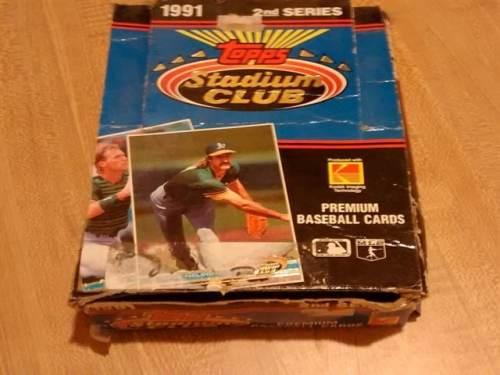1991 Topps Stadium Club Series Baseball Box
