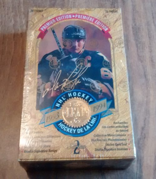 1993-94 LEAF SERIES SEALED HOCKEY BOX