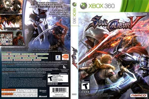 Soul Calibur V Recensione