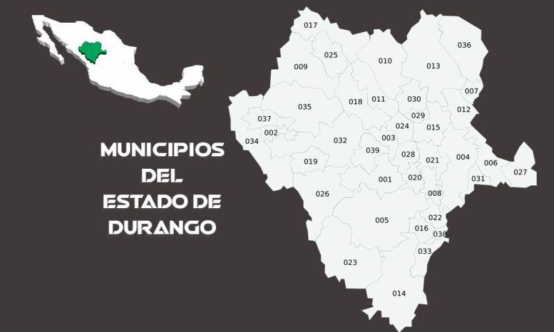 Municipios del Estado de Durango