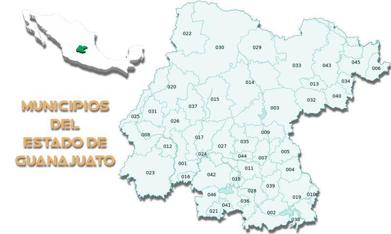 Municipios del estado de Guanajuato