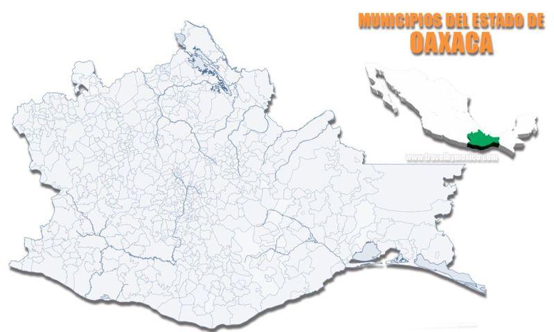 Municipios del Estado de Oaxaca