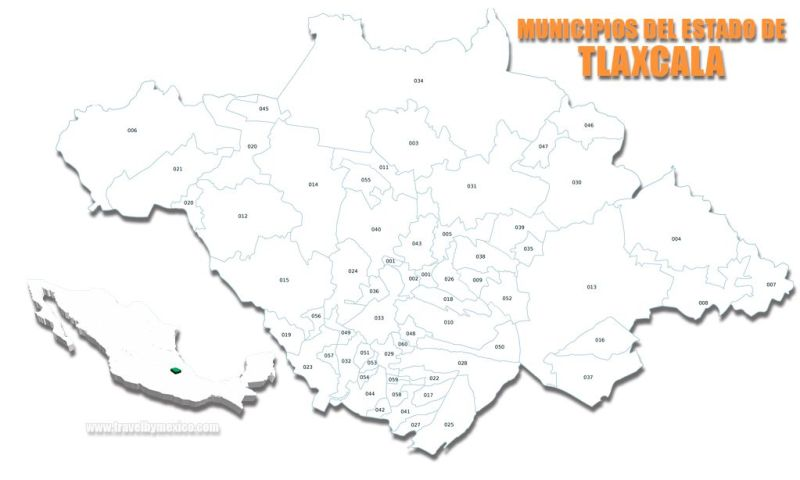 Municipios del Estado de Tlaxcala