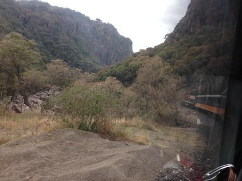 Barrancas del Cobre en Chihuahua. El Chepe