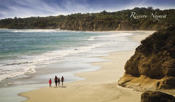 Top 5 de playas seguras para niños en Riviera Nayarit