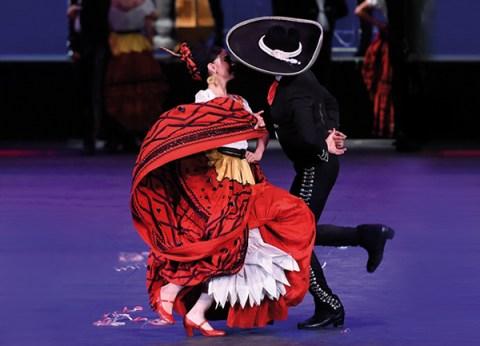 Ballet Folklórico de México de Amalia Hernández en las actividades para septiembre en FCG