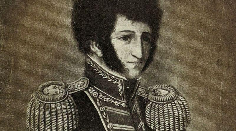 Ignacio Allende en la Batalla del Monte de las Cruces